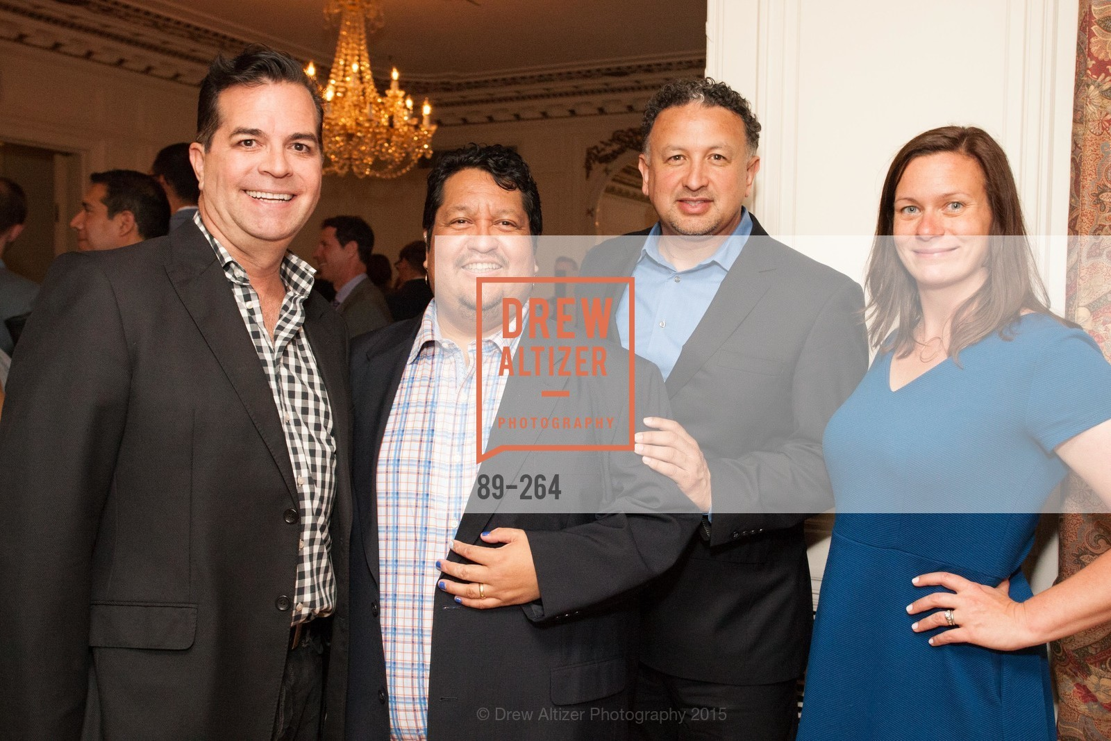 Michael Montoya, Valentin Aguirre, Miguel Bustos, Angie Murphy, Shanti's Compassion is Universal 41st Anniversary Preview Reception, Palace Hotel. 2 Montgomery Street, August 25th, 2015,Drew Altizer, Drew Altizer Photography, full-service agency, private events, San Francisco photographer, photographer california