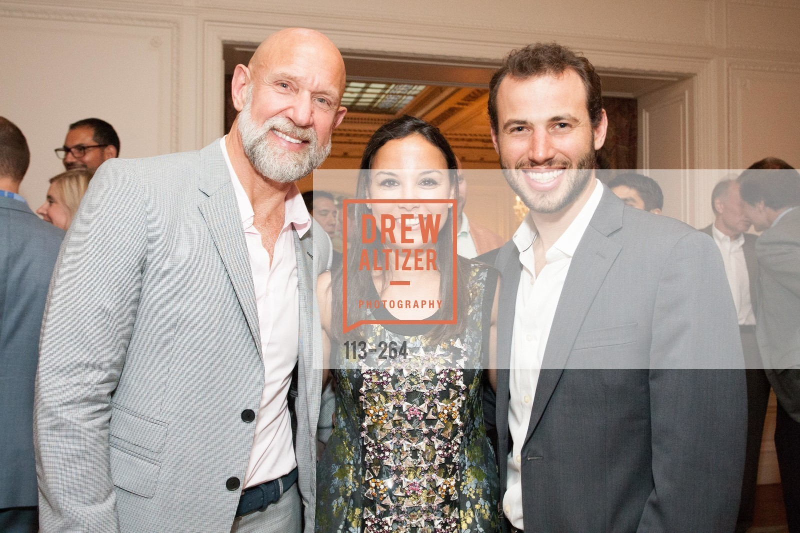 Frank Petkovich, Bahya Oumil-Murad, Daniel Sparks, Shanti's Compassion is Universal 41st Anniversary Preview Reception, Palace Hotel. 2 Montgomery Street, August 25th, 2015,Drew Altizer, Drew Altizer Photography, full-service event agency, private events, San Francisco photographer, photographer California
