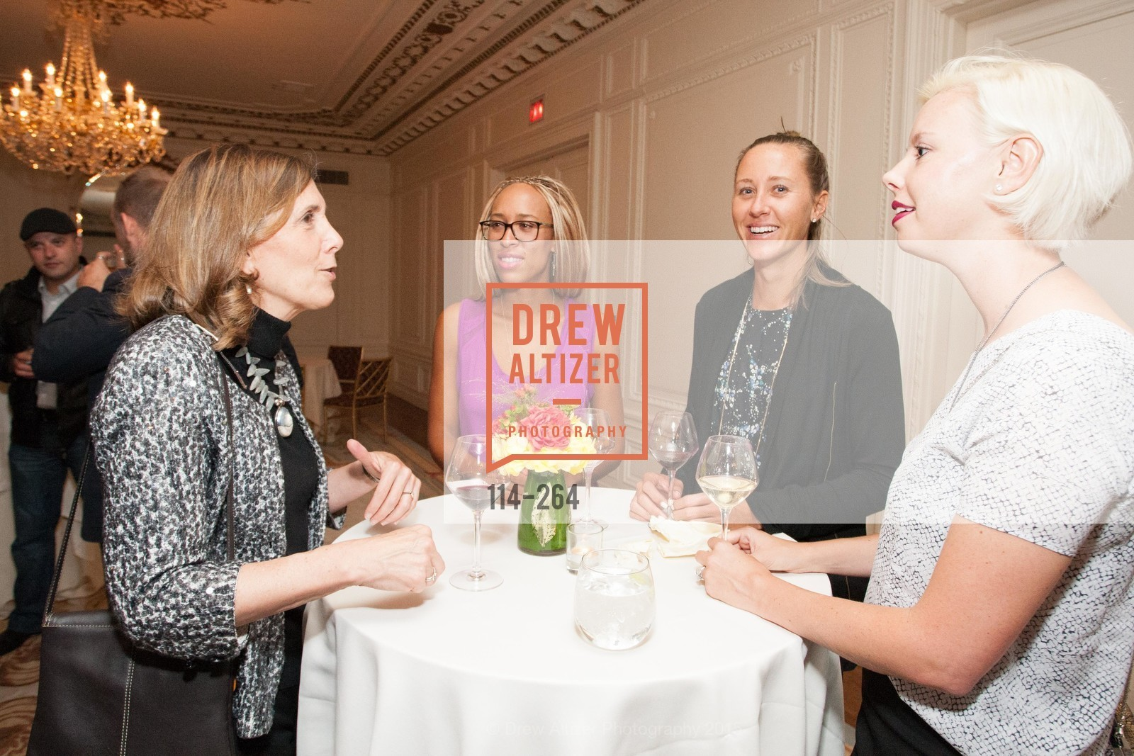 Micki Klearman, Charlotte Scatliffe, Kady Pooler, Kristen Heller, Shanti's Compassion is Universal 41st Anniversary Preview Reception, Palace Hotel. 2 Montgomery Street, August 25th, 2015,Drew Altizer, Drew Altizer Photography, full-service agency, private events, San Francisco photographer, photographer california