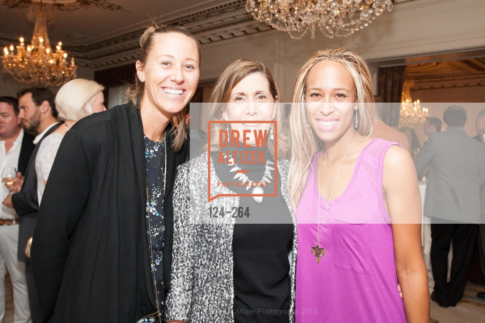 Kady Pooler, Micki Klearman, Charlotte Scatliffe, Shanti's Compassion is Universal 41st Anniversary Preview Reception, Palace Hotel. 2 Montgomery Street, August 25th, 2015,Drew Altizer, Drew Altizer Photography, full-service agency, private events, San Francisco photographer, photographer california