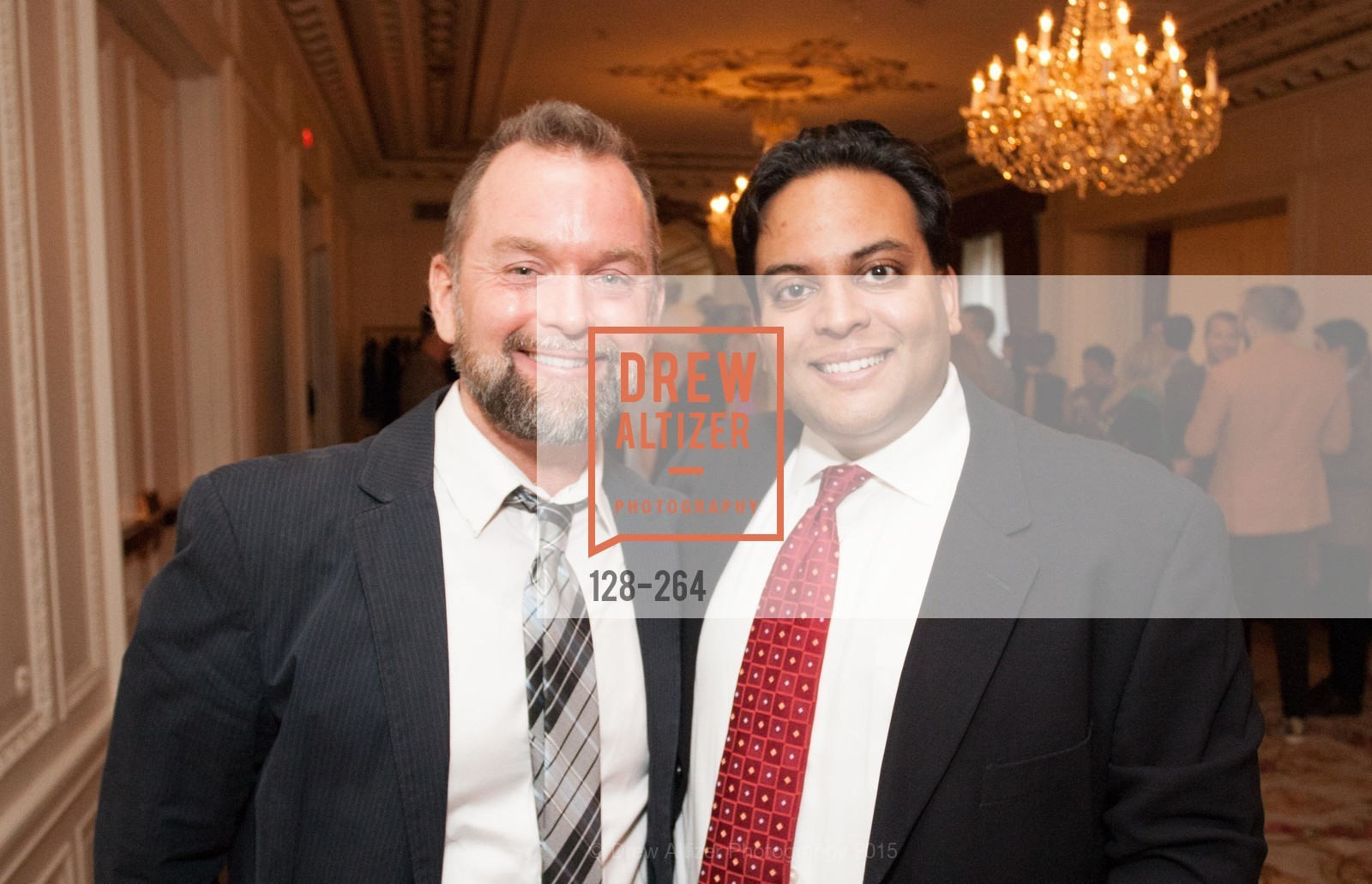 Mike Hickey, Kaushik Roy, Shanti's Compassion is Universal 41st Anniversary Preview Reception, Palace Hotel. 2 Montgomery Street, August 25th, 2015,Drew Altizer, Drew Altizer Photography, full-service agency, private events, San Francisco photographer, photographer california