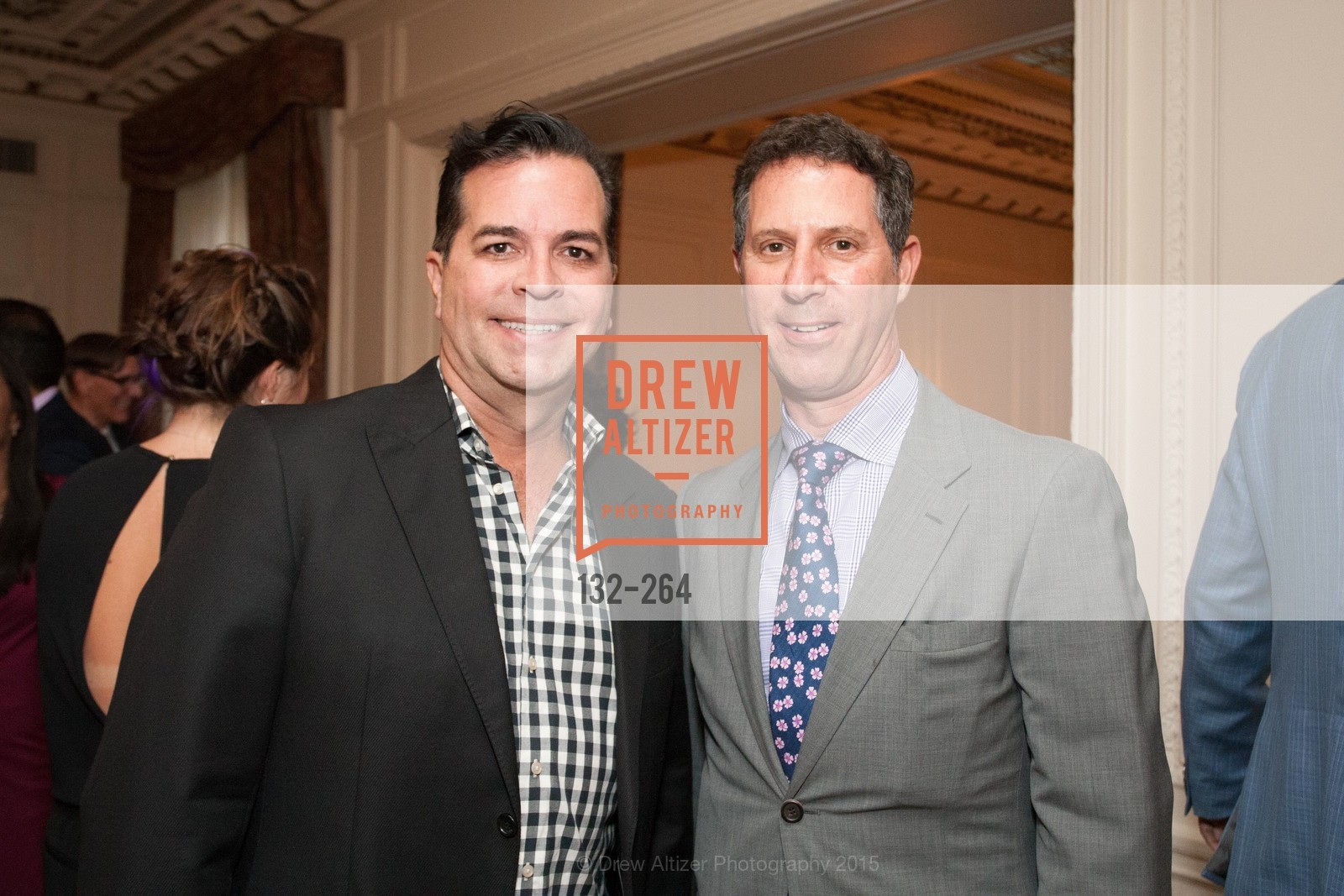 Michael Montoya, Seth Scullman, Shanti's Compassion is Universal 41st Anniversary Preview Reception, Palace Hotel. 2 Montgomery Street, August 25th, 2015,Drew Altizer, Drew Altizer Photography, full-service agency, private events, San Francisco photographer, photographer california
