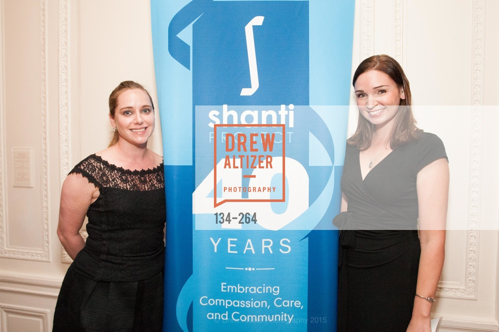 Shannon Bourne, Katie Lawlor, Shanti's Compassion is Universal 41st Anniversary Preview Reception, Palace Hotel. 2 Montgomery Street, August 25th, 2015
