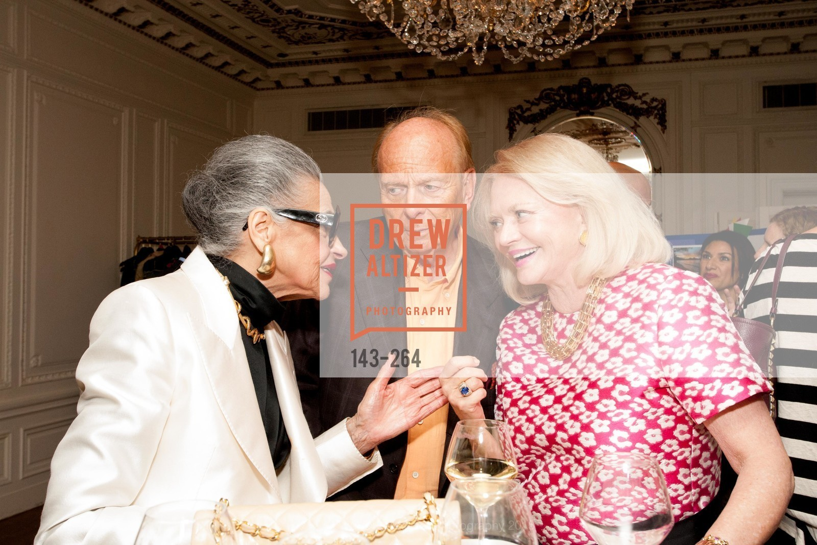 Joy Venturini Bianchi, David Pace, Heide Betz, Shanti's Compassion is Universal 41st Anniversary Preview Reception, Palace Hotel. 2 Montgomery Street, August 25th, 2015,Drew Altizer, Drew Altizer Photography, full-service agency, private events, San Francisco photographer, photographer california