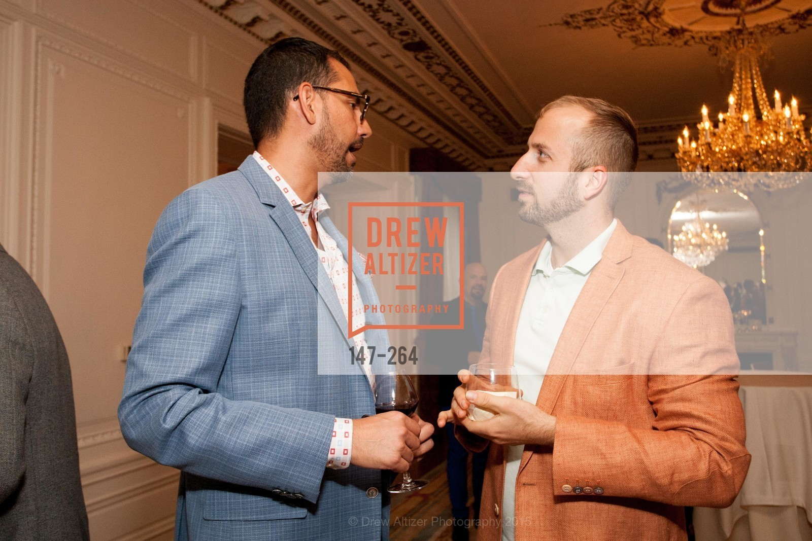Ernesto Quintanilla, Chad Benjamin Potter, Shanti's Compassion is Universal 41st Anniversary Preview Reception, Palace Hotel. 2 Montgomery Street, August 25th, 2015,Drew Altizer, Drew Altizer Photography, full-service agency, private events, San Francisco photographer, photographer california