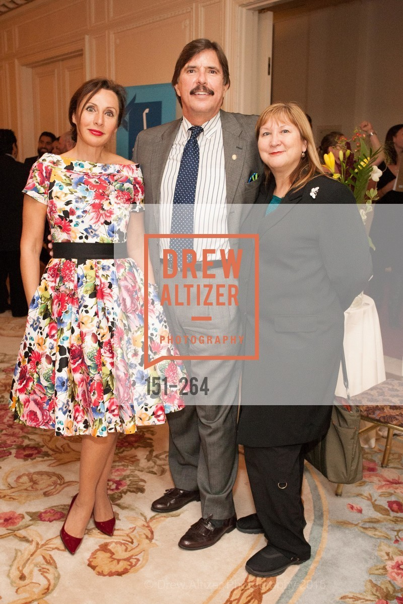 Clara Shayevich, John Rosin, Veronica Labeau, Shanti's Compassion is Universal 41st Anniversary Preview Reception, Palace Hotel. 2 Montgomery Street, August 25th, 2015,Drew Altizer, Drew Altizer Photography, full-service agency, private events, San Francisco photographer, photographer california