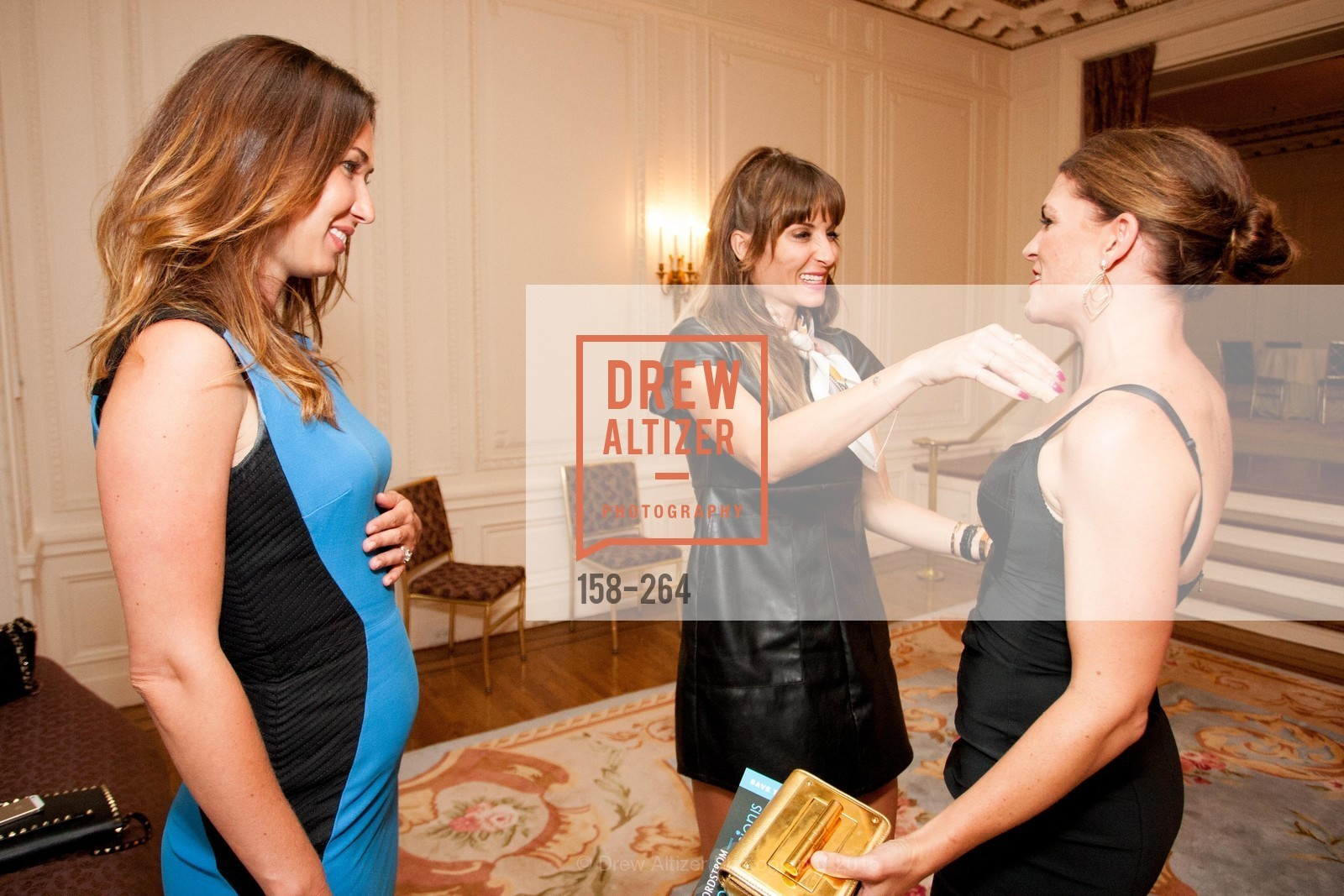 Camilla Papale, Mary Gonzalves Kinney, Bridget Cooper, Shanti's Compassion is Universal 41st Anniversary Preview Reception, Palace Hotel. 2 Montgomery Street, August 25th, 2015,Drew Altizer, Drew Altizer Photography, full-service agency, private events, San Francisco photographer, photographer california