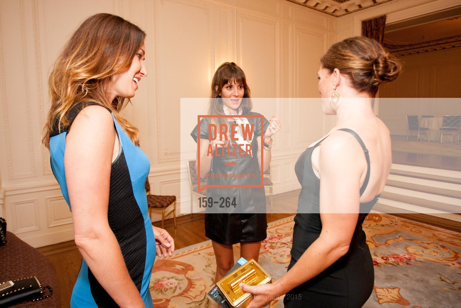 Camilla Papale, Mary Gonzalves Kinney, Bridget Cooper, Shanti's Compassion is Universal 41st Anniversary Preview Reception, Palace Hotel. 2 Montgomery Street, August 25th, 2015,Drew Altizer, Drew Altizer Photography, full-service event agency, private events, San Francisco photographer, photographer California