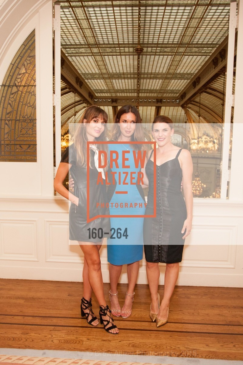 Mary Gonzalves Kinney, Camilla Papale, Bridget Cooper, Shanti's Compassion is Universal 41st Anniversary Preview Reception, Palace Hotel. 2 Montgomery Street, August 25th, 2015,Drew Altizer, Drew Altizer Photography, full-service agency, private events, San Francisco photographer, photographer california