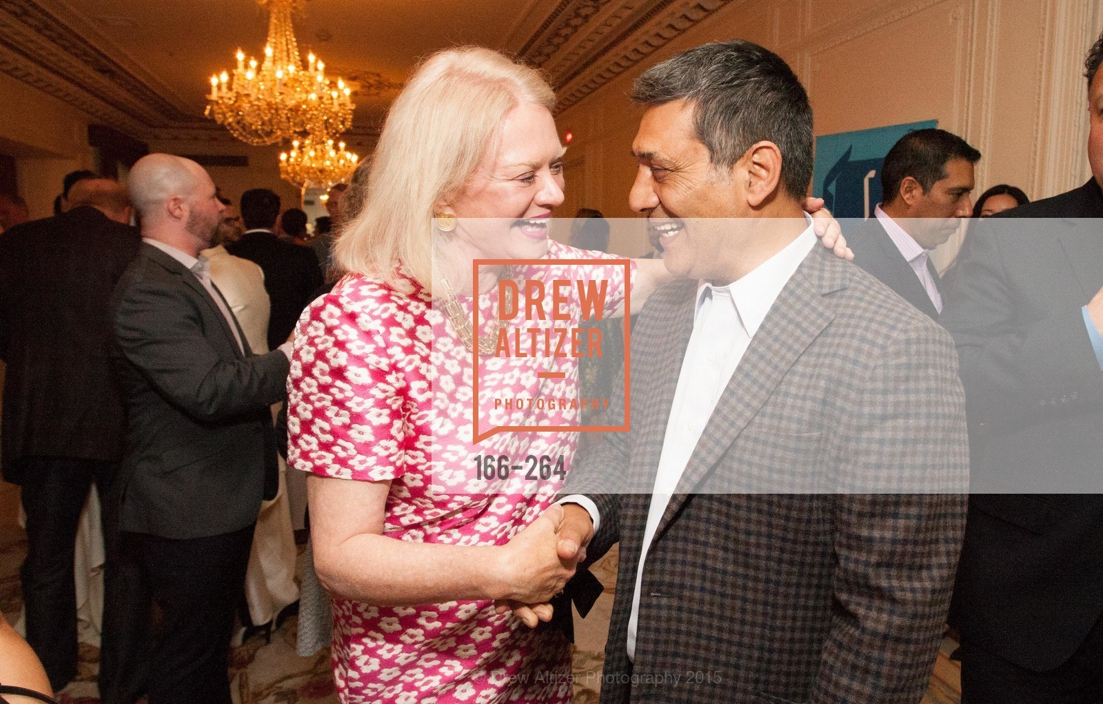 Heide Betz, Gus Murad, Shanti's Compassion is Universal 41st Anniversary Preview Reception, Palace Hotel. 2 Montgomery Street, August 25th, 2015,Drew Altizer, Drew Altizer Photography, full-service agency, private events, San Francisco photographer, photographer california