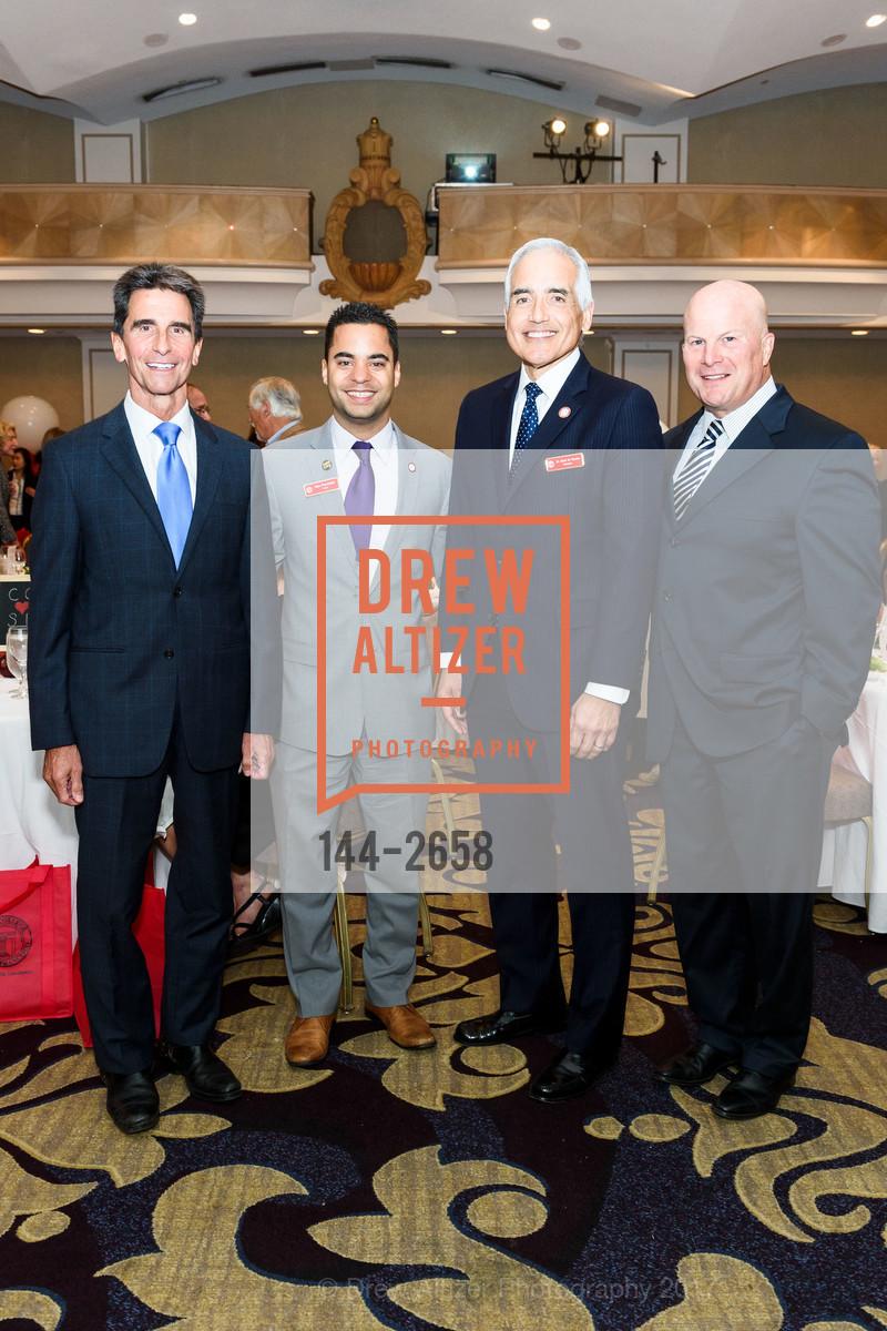 Mark Leno, Alex Randolph, Mark Rocha, Greg Suhr, Photo #144-2658