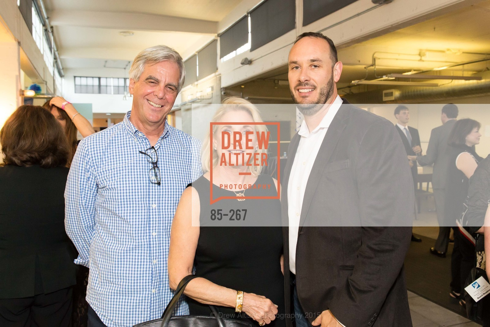 Jim Roemmer, Debra Avakian, Andy Sackley, Pre-Party for Cirque du Soiree 2015, If(we.co) Headquarters. 848 Battery St, August 27th, 2015,Drew Altizer, Drew Altizer Photography, full-service agency, private events, San Francisco photographer, photographer california