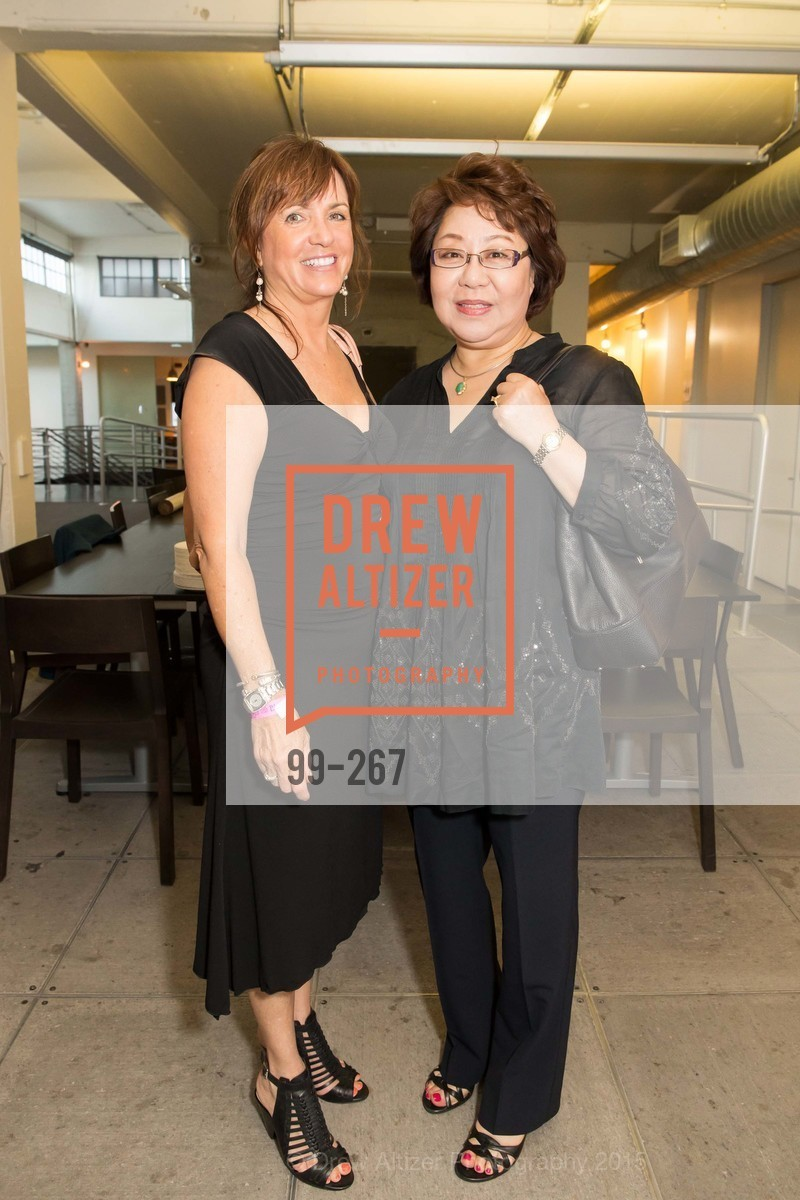 Dana Cattiello, Joanne Ahn, Pre-Party for Cirque du Soiree 2015, If(we.co) Headquarters. 848 Battery St, August 27th, 2015