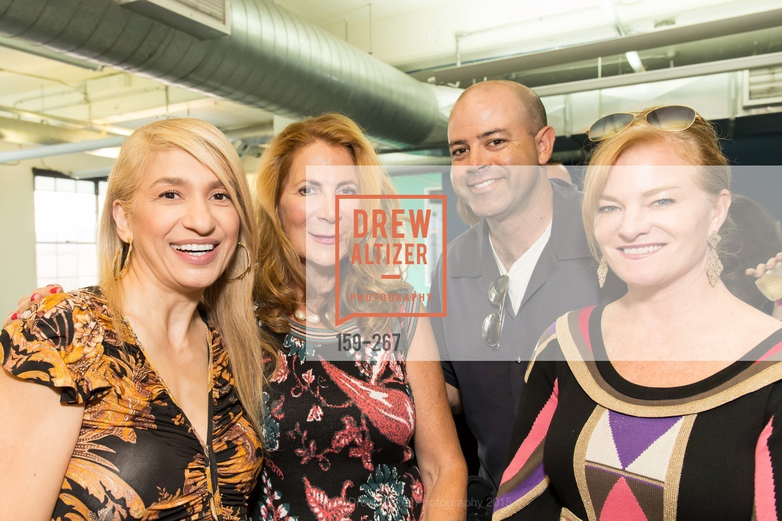 Navid Armstrong, Patricia Ferrin Loucks, Brian Cano, Rene Rodman, Pre-Party for Cirque du Soiree 2015, If(we.co) Headquarters. 848 Battery St, August 27th, 2015,Drew Altizer, Drew Altizer Photography, full-service agency, private events, San Francisco photographer, photographer california