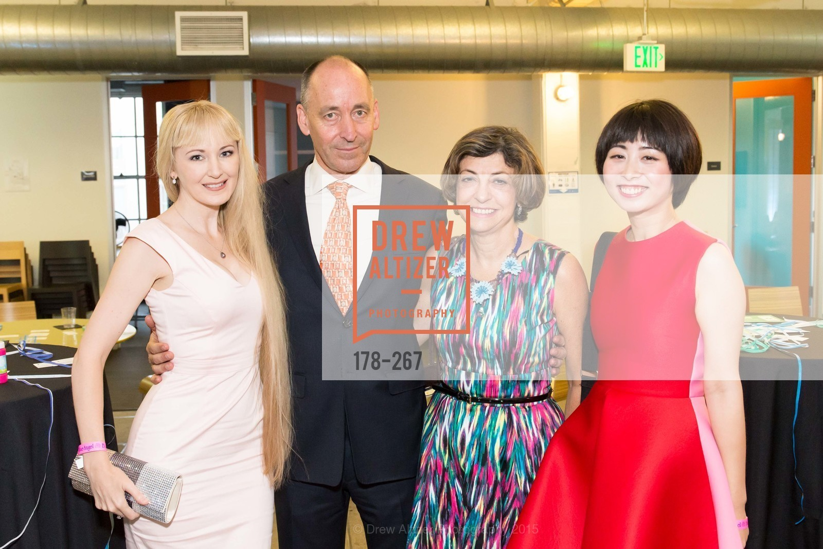 Shannyn Bessoni, John Kirkpatrick, Ludmila Eggleton, Yuka Uehara, Pre-Party for Cirque du Soiree 2015, If(we.co) Headquarters. 848 Battery St, August 27th, 2015