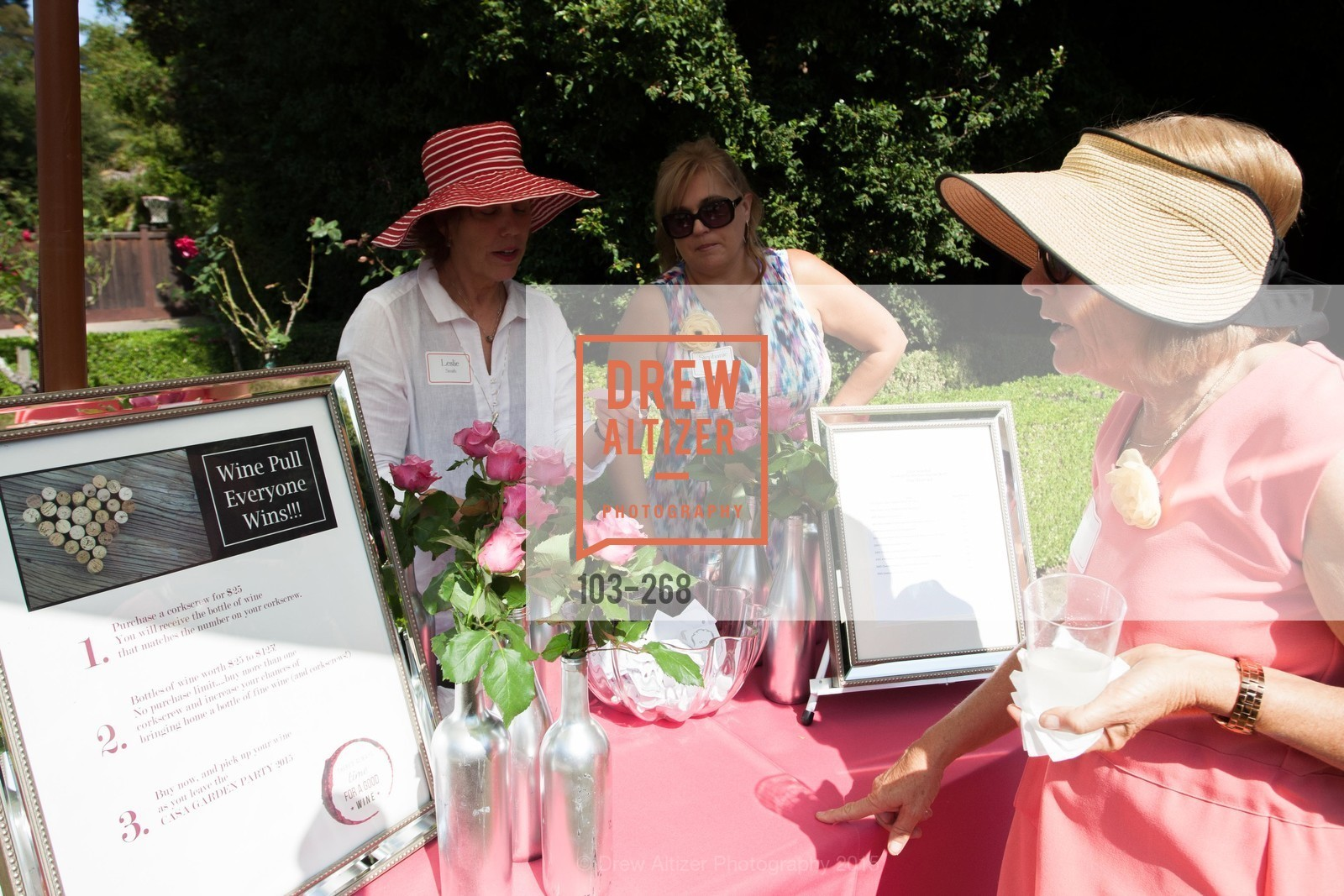 Leslie Smith, Stephanie Dunston, CASA of San Mateo County Auxiliary's Annual Garden Party, 2135 Ralston Avenue, August 30th, 2015,Drew Altizer, Drew Altizer Photography, full-service event agency, private events, San Francisco photographer, photographer California
