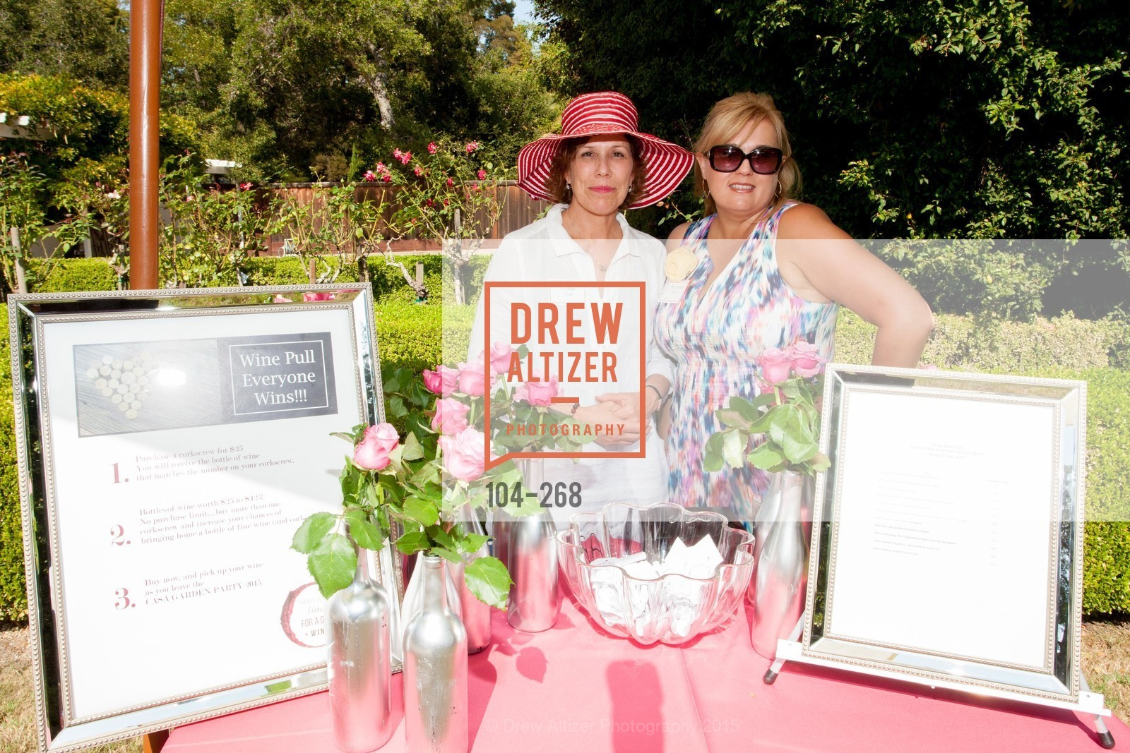 Dena Zwingle, Christy Zwingle, CASA of San Mateo County Auxiliary's Annual Garden Party, 2135 Ralston Avenue, August 30th, 2015