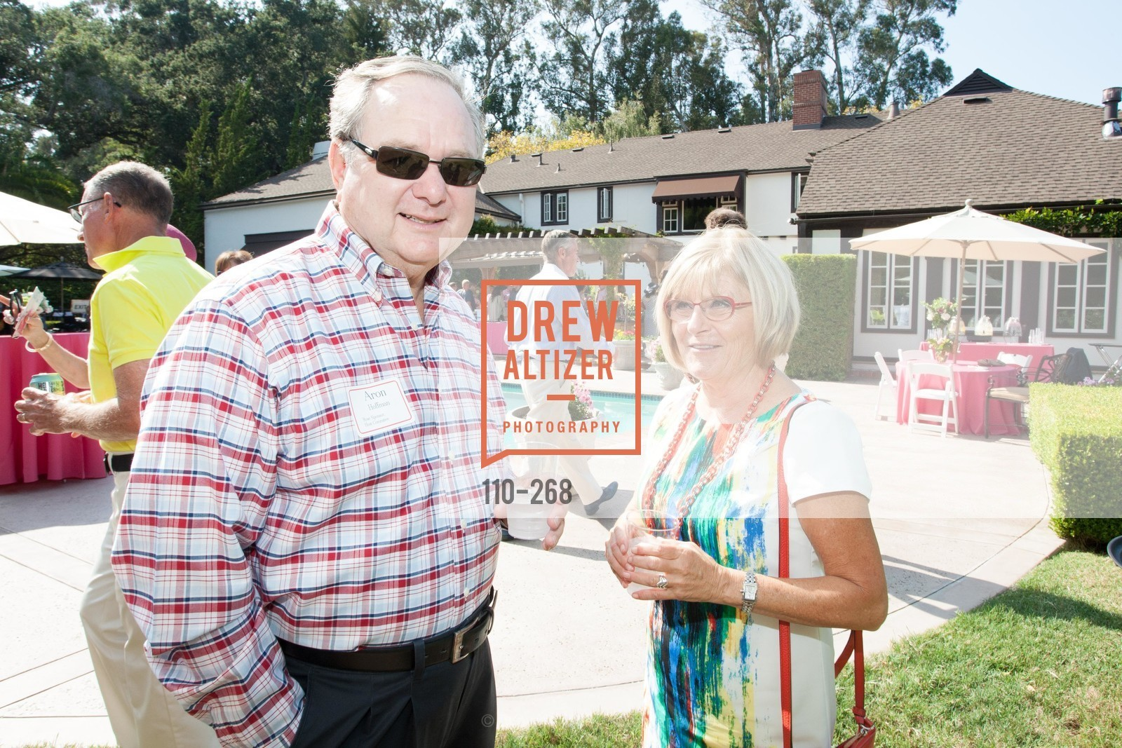 Aron Hoffman, Barbara Evers, CASA of San Mateo County Auxiliary's Annual Garden Party, 2135 Ralston Avenue, August 30th, 2015,Drew Altizer, Drew Altizer Photography, full-service event agency, private events, San Francisco photographer, photographer California