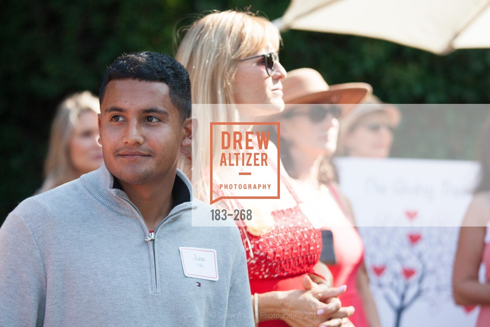 Juan Villa, CASA of San Mateo County Auxiliary's Annual Garden Party, 2135 Ralston Avenue, August 30th, 2015,Drew Altizer, Drew Altizer Photography, full-service agency, private events, San Francisco photographer, photographer california
