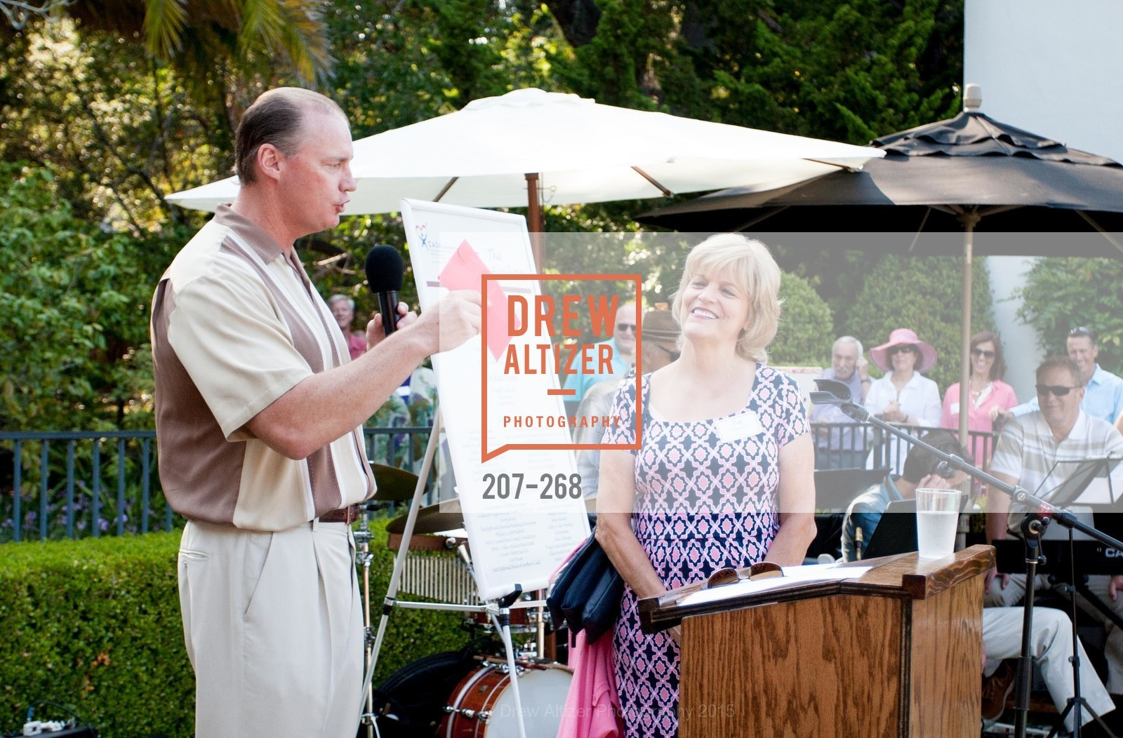 Ron Galatolo, Pat Miljanich, CASA of San Mateo County Auxiliary's Annual Garden Party, 2135 Ralston Avenue, August 30th, 2015,Drew Altizer, Drew Altizer Photography, full-service agency, private events, San Francisco photographer, photographer california