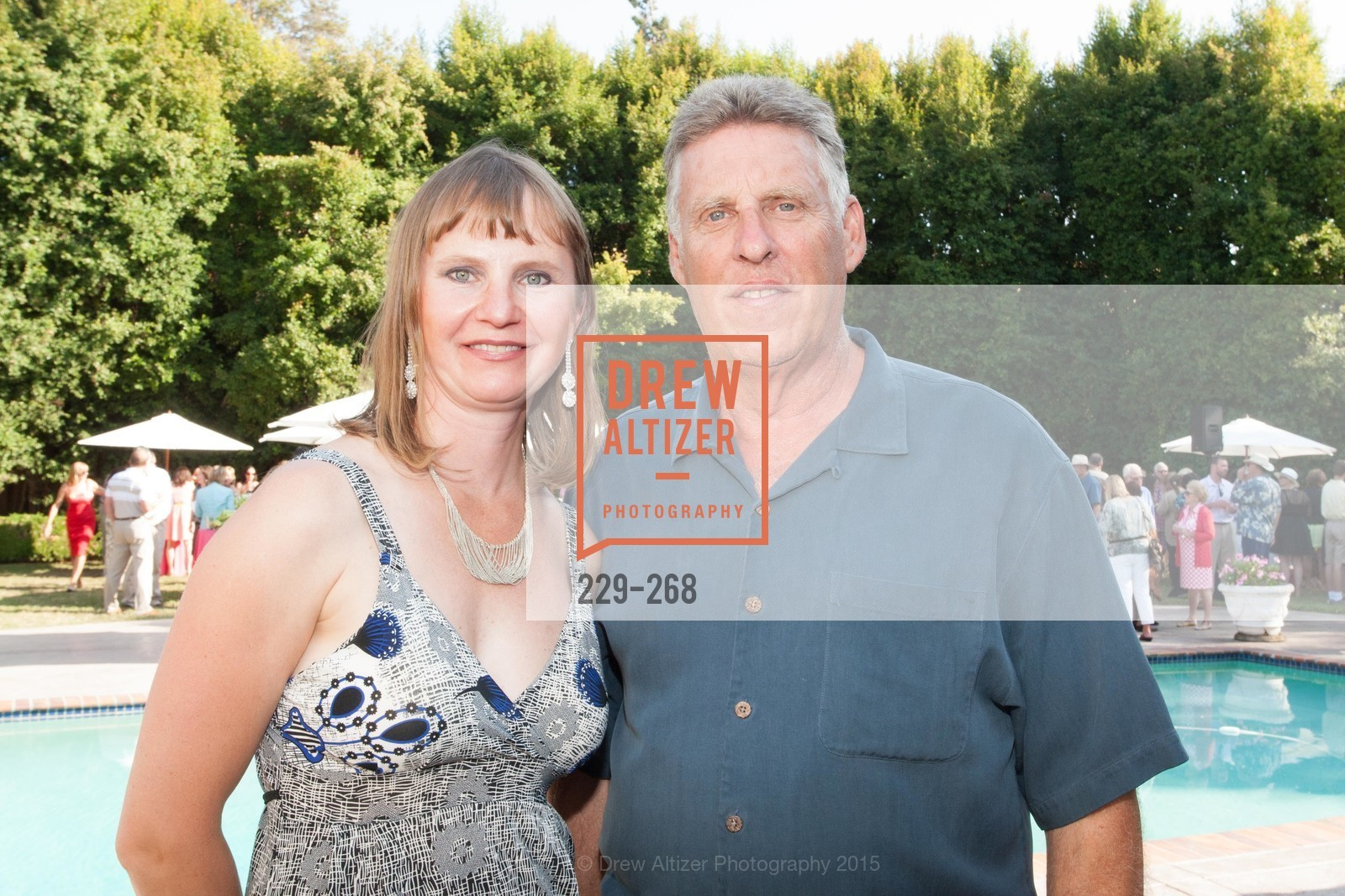 Svetlana Raleigh, John Raleigh, CASA of San Mateo County Auxiliary's Annual Garden Party, 2135 Ralston Avenue, August 30th, 2015,Drew Altizer, Drew Altizer Photography, full-service agency, private events, San Francisco photographer, photographer california