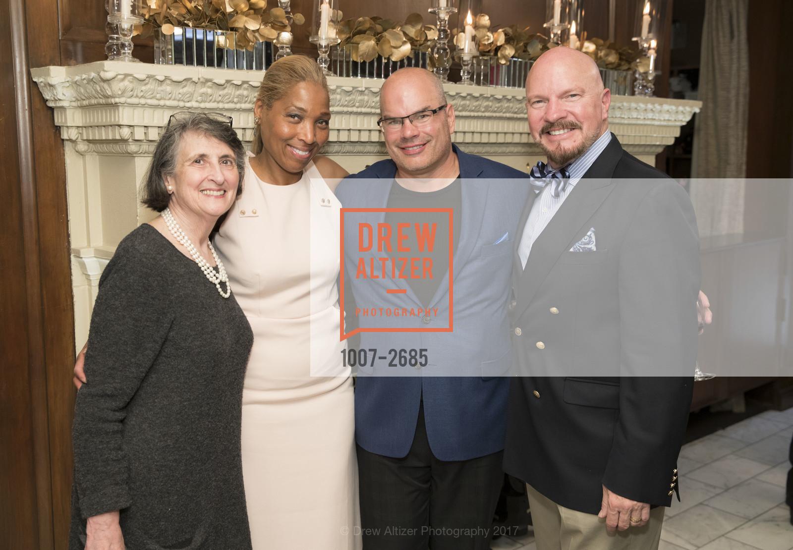 Joan Gordon, Paula Rose, Marcus Miller, John Woodruff, Photo #1007-2685