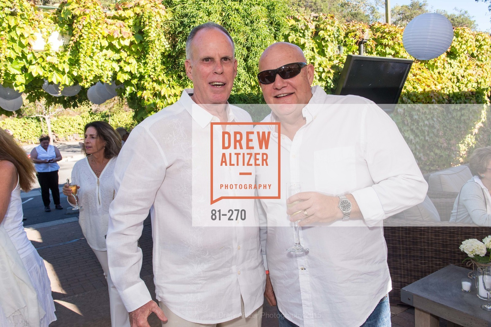 Larry Krieger, Lenny Gill, Bay Club StoneTree Bianco Party, ay Club StoneTree. 9 Stone Tree Lane, August 29th, 2015,Drew Altizer, Drew Altizer Photography, full-service agency, private events, San Francisco photographer, photographer california