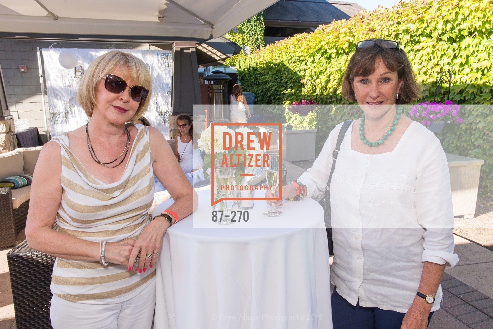 Mary Cutshall, Marie Wickenheiser, Bay Club StoneTree Bianco Party, ay Club StoneTree. 9 Stone Tree Lane, August 29th, 2015,Drew Altizer, Drew Altizer Photography, full-service event agency, private events, San Francisco photographer, photographer California