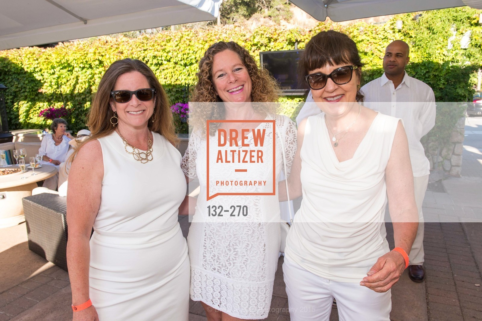 Gail Lamphere, Rachel Janin, Margaret Randall, Bay Club StoneTree Bianco Party, ay Club StoneTree. 9 Stone Tree Lane, August 29th, 2015,Drew Altizer, Drew Altizer Photography, full-service agency, private events, San Francisco photographer, photographer california