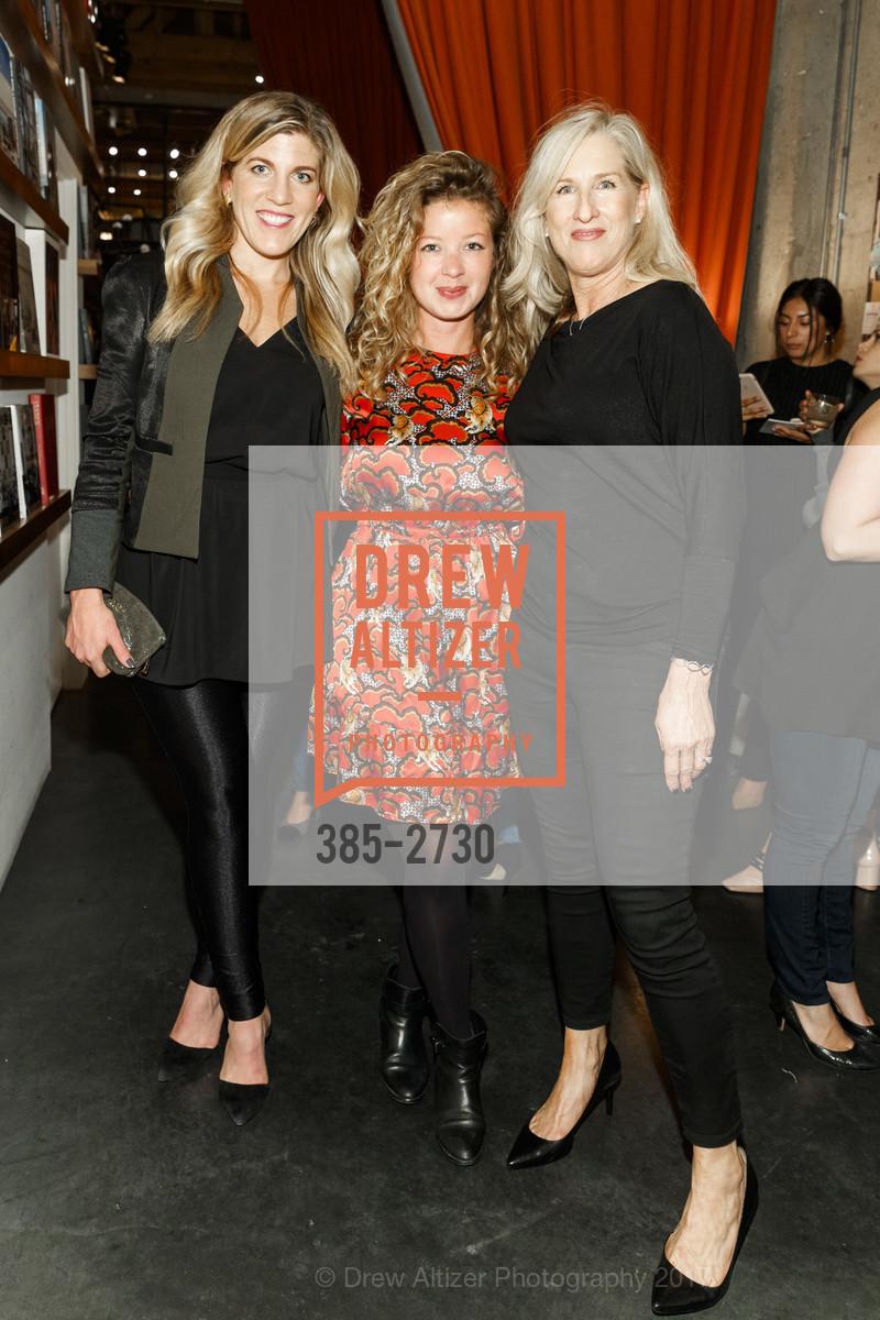 Natalie Sanderson, Becky Abramowitz, Cheryl Keller, Photo #385-2730