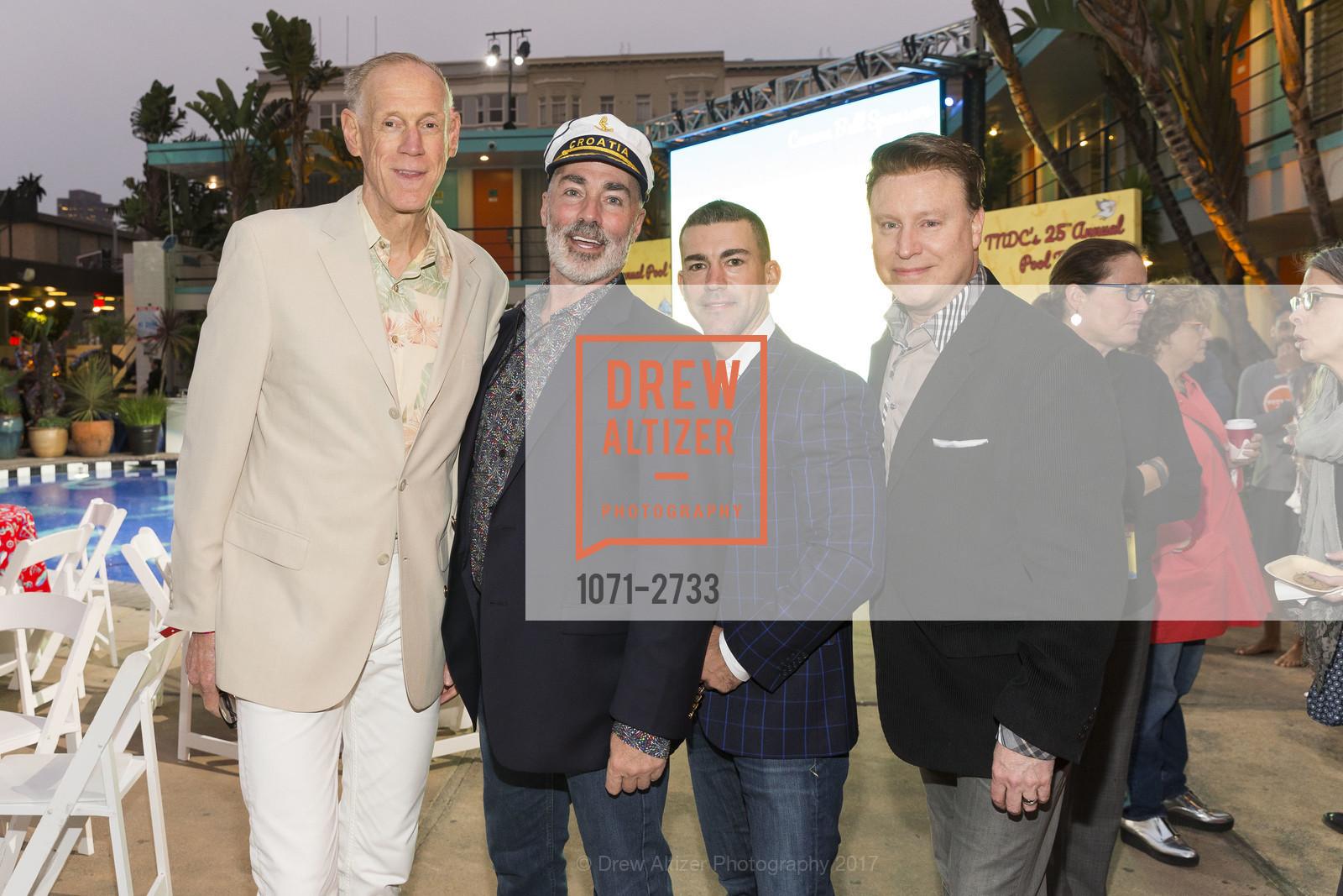 Tom Kelley, Lenny Broberg, Mark Vasquez, Doug Waggener, Photo #1071-2733