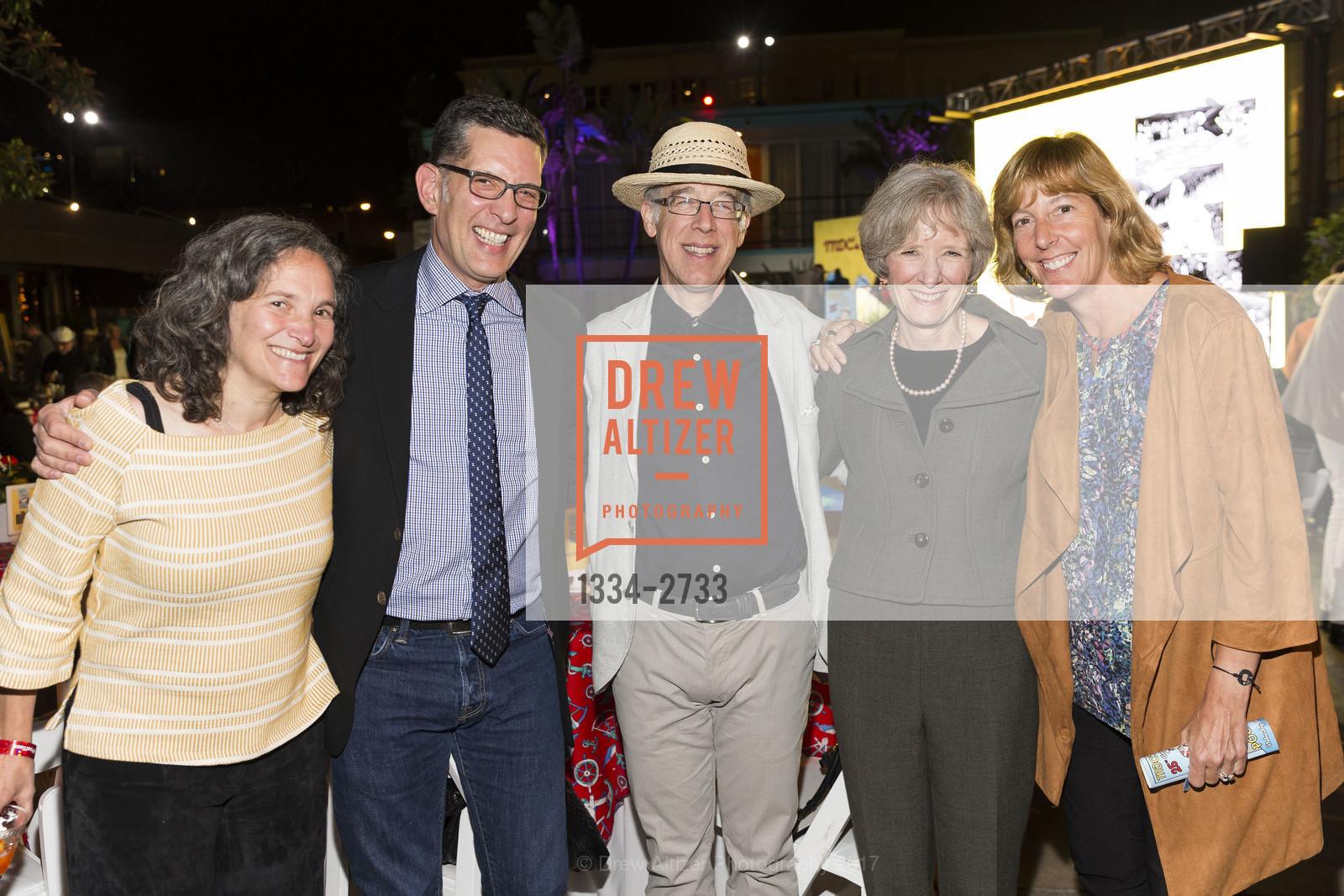 Liz Orlin, Doug Gary, Don Falk, Kathy Lowry, Carolyn Adams, Photo #1334-2733