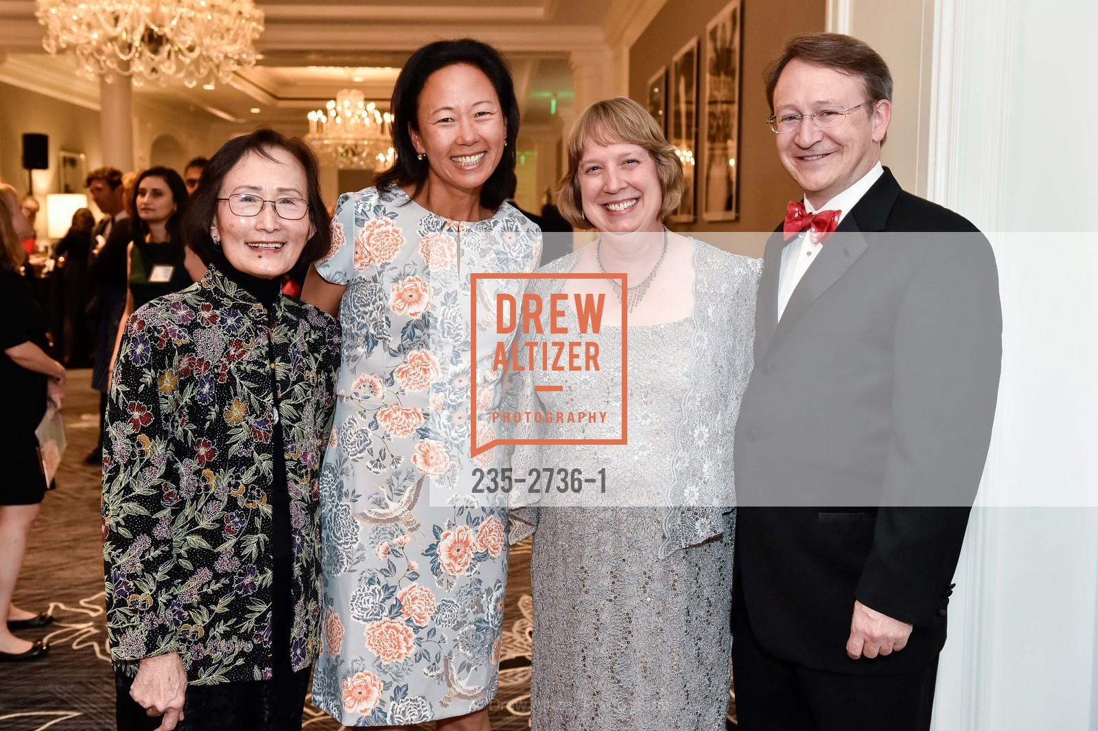 Julie Lu, Debbie Lu, Beth Arman, Robert Mintz, Photo #235-2736-1