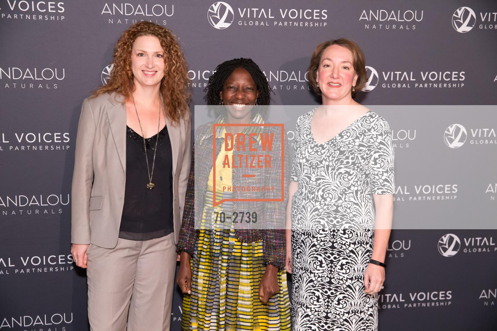 Jessica Hubley, Agnes Igoye, Heather King, Photo #70-2739