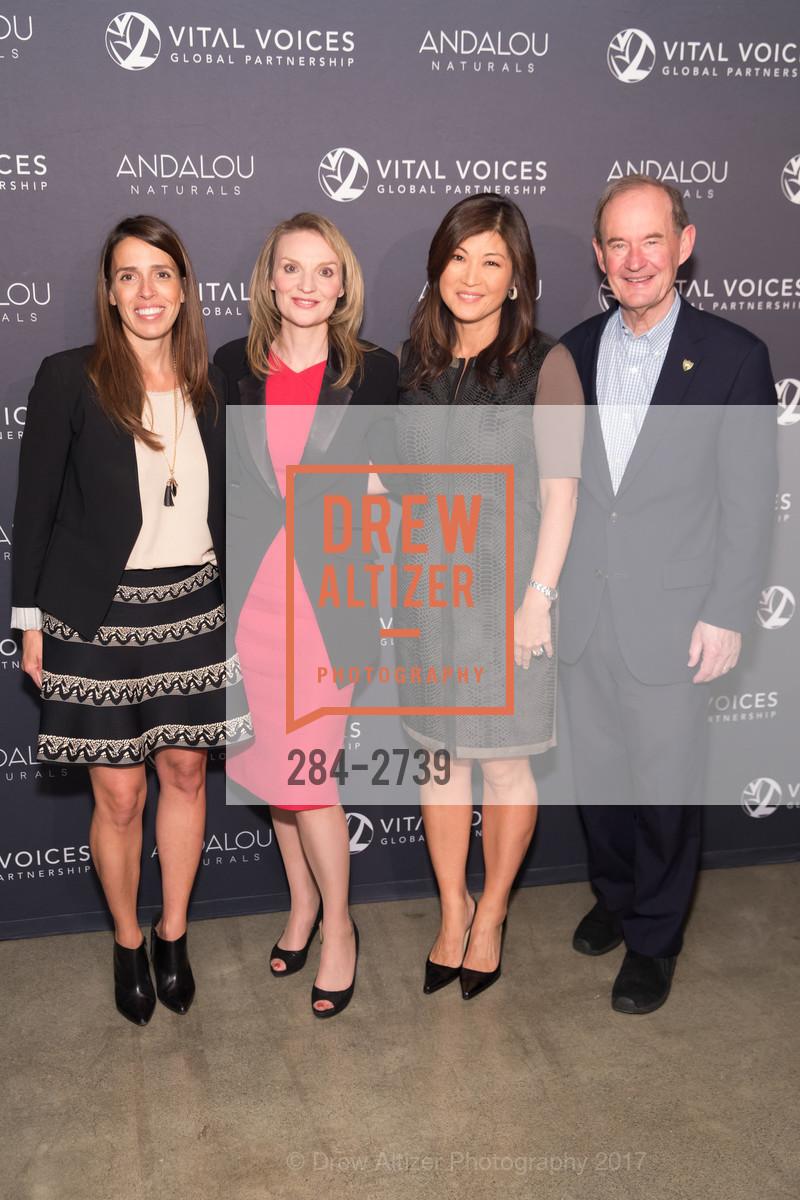Natasha Dolby, Alyse Nelson, Juju Chang, David Boies, Photo #284-2739