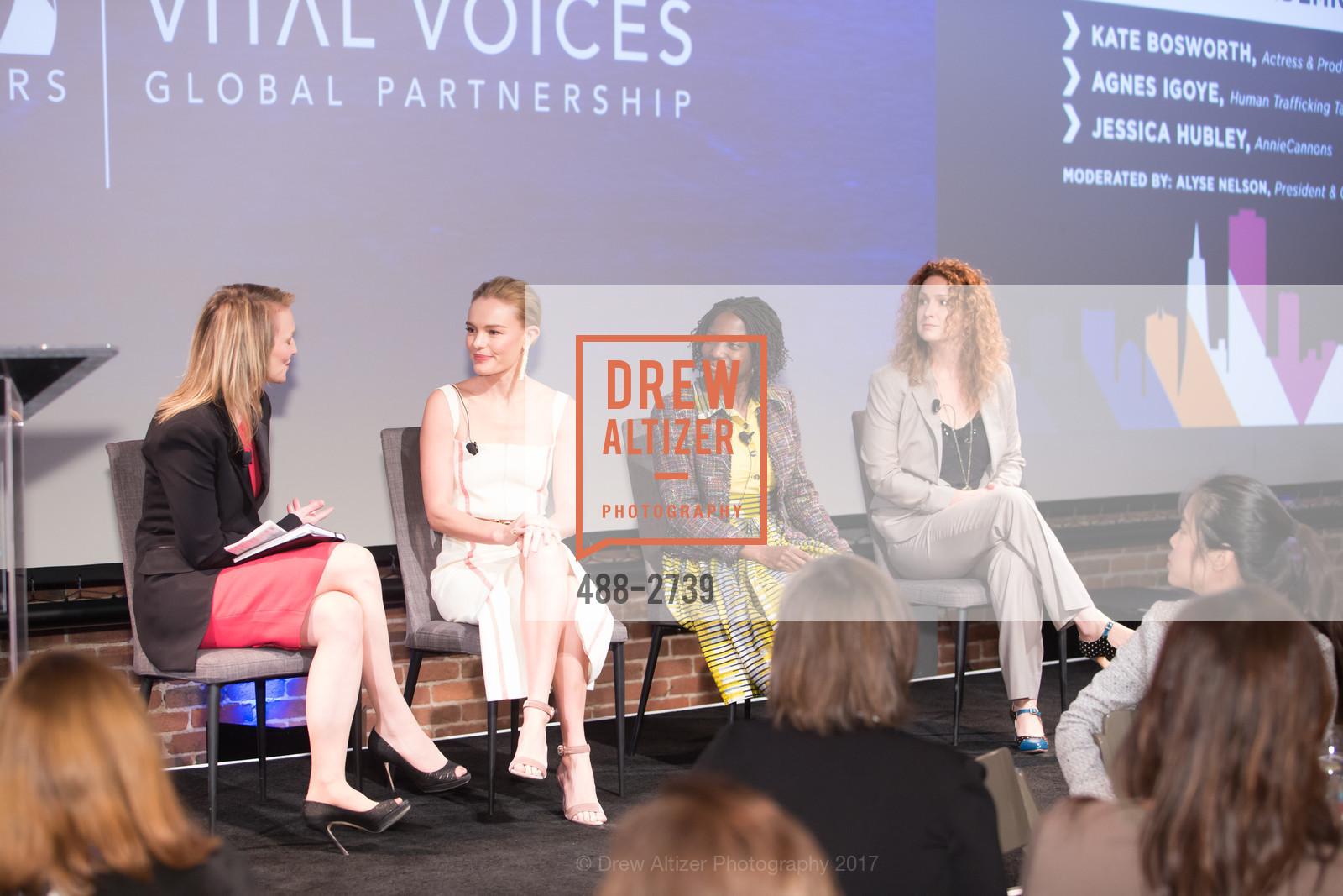 Alyse Nelson, Kate Bosworth, Agnes Igoye, Jessica Hubley, Photo #488-2739