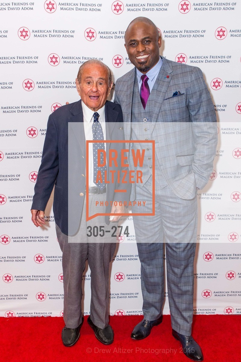 Maurice Kanbar, Wayne Brady, American Friends of Magen David Adom Inaugural Red Star Gala, Hilton Union Square. 333 O'Farrell St, August 30th, 2015,Drew Altizer, Drew Altizer Photography, full-service agency, private events, San Francisco photographer, photographer california