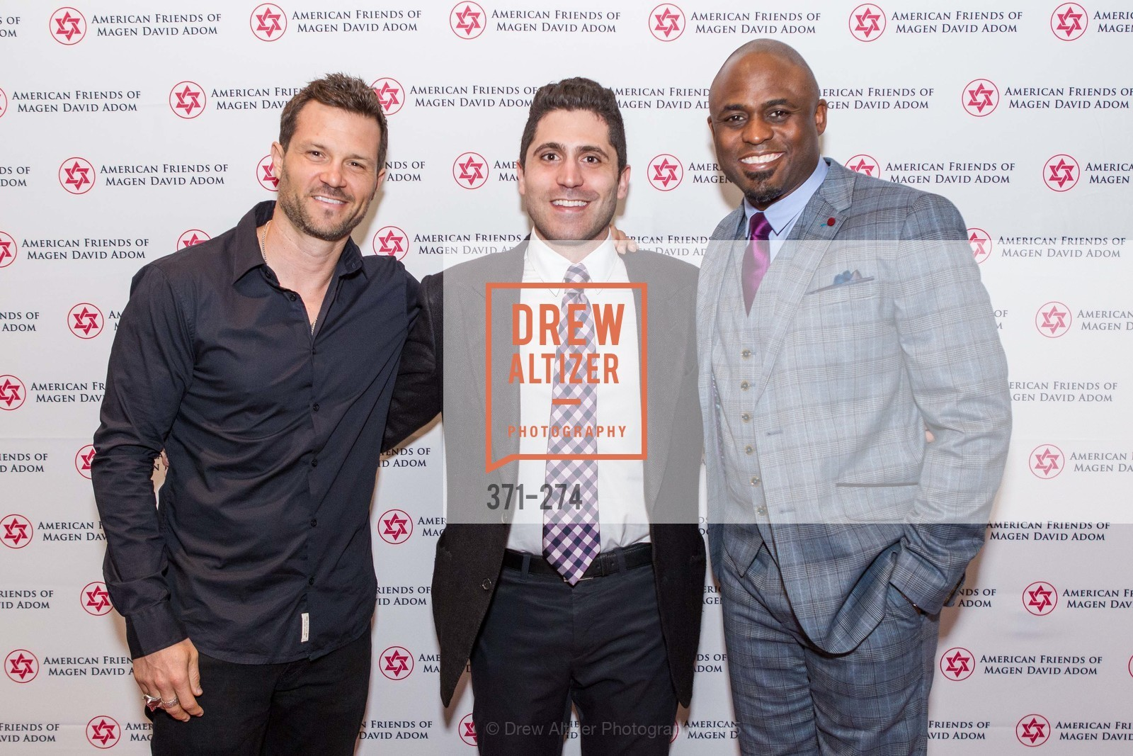 In-Q, Lior Tamir, Wayne Brady, American Friends of Magen David Adom Inaugural Red Star Gala, Hilton Union Square. 333 O'Farrell St, August 30th, 2015,Drew Altizer, Drew Altizer Photography, full-service agency, private events, San Francisco photographer, photographer california