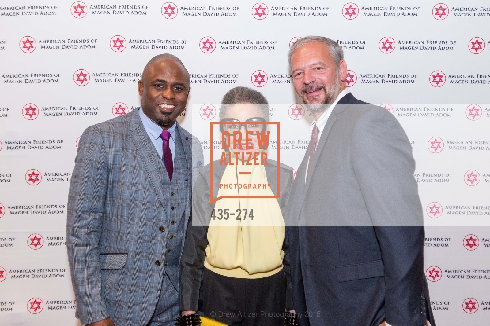 Wayne Brady, Joy Venturini Bianchi, American Friends of Magen David Adom Inaugural Red Star Gala, Hilton Union Square. 333 O'Farrell St, August 30th, 2015,Drew Altizer, Drew Altizer Photography, full-service agency, private events, San Francisco photographer, photographer california