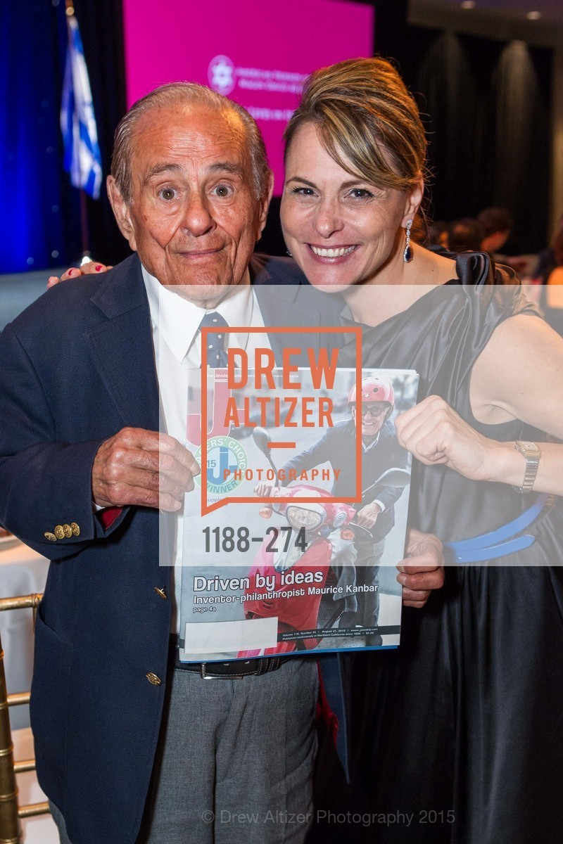 Maurice Kanbar, Teresa Rodriguez, American Friends of Magen David Adom Inaugural Red Star Gala, Hilton Union Square. 333 O'Farrell St, August 30th, 2015,Drew Altizer, Drew Altizer Photography, full-service agency, private events, San Francisco photographer, photographer california