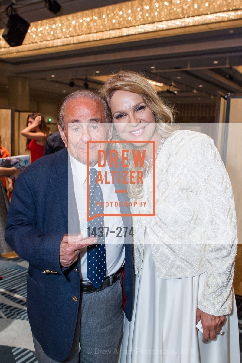 Maurice Kanbar, Dina Leeds, American Friends of Magen David Adom Inaugural Red Star Gala, Hilton Union Square. 333 O'Farrell St, August 30th, 2015,Drew Altizer, Drew Altizer Photography, full-service agency, private events, San Francisco photographer, photographer california