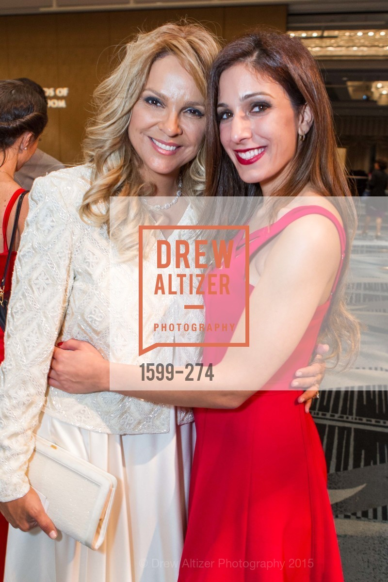Carolyn Kangavari, Dina Leeds, American Friends of Magen David Adom Inaugural Red Star Gala, Hilton Union Square. 333 O'Farrell St, August 30th, 2015