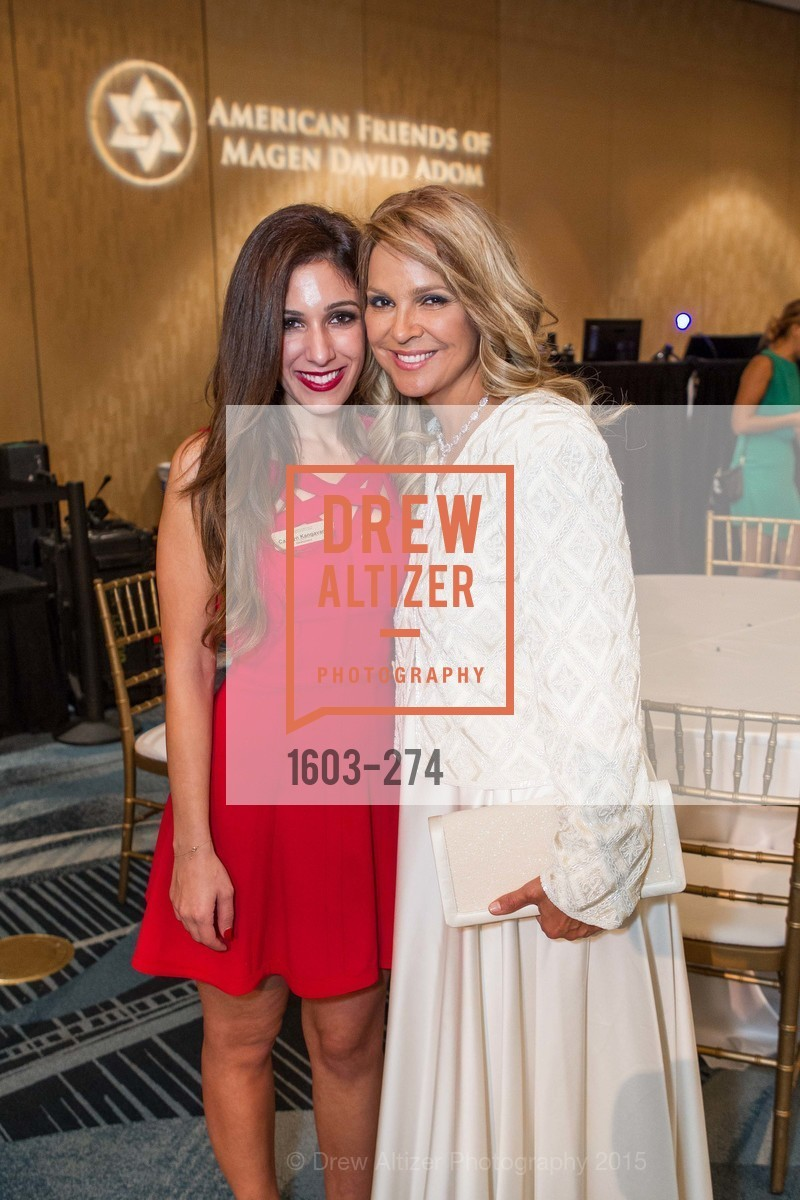 Carolyn Kangavari, Dina Leeds, American Friends of Magen David Adom Inaugural Red Star Gala, Hilton Union Square. 333 O'Farrell St, August 30th, 2015,Drew Altizer, Drew Altizer Photography, full-service agency, private events, San Francisco photographer, photographer california