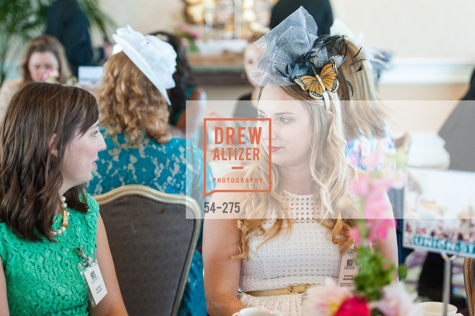 Ashley Kokesh, Victoria Whitehill, Spinsters of San Francisco New Member Tea 2015, The Fairmont Hotel, Crown Room. 950 Mason Street, August 30th, 2015,Drew Altizer, Drew Altizer Photography, full-service event agency, private events, San Francisco photographer, photographer California