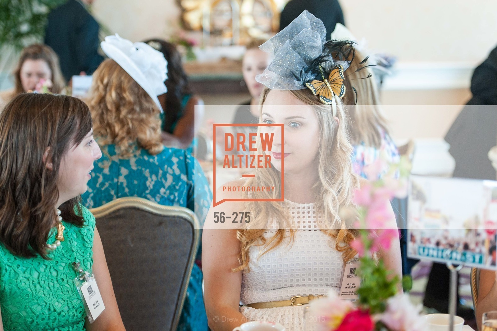 Ashley Kokesh, Victoria Whitehill, Spinsters of San Francisco New Member Tea 2015, The Fairmont Hotel, Crown Room. 950 Mason Street, August 30th, 2015,Drew Altizer, Drew Altizer Photography, full-service agency, private events, San Francisco photographer, photographer california