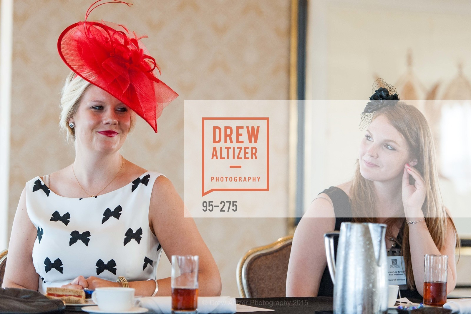 Laura Davis, Jamie Lee Taylor, Spinsters of San Francisco New Member Tea 2015, The Fairmont Hotel, Crown Room. 950 Mason Street, August 30th, 2015,Drew Altizer, Drew Altizer Photography, full-service agency, private events, San Francisco photographer, photographer california