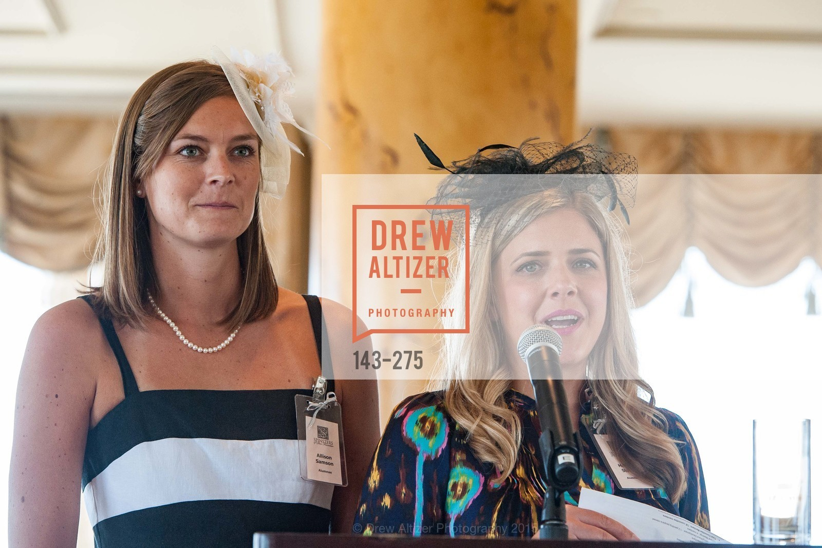 Allison Samson, Melissa Stoller, Spinsters of San Francisco New Member Tea 2015, The Fairmont Hotel, Crown Room. 950 Mason Street, August 30th, 2015,Drew Altizer, Drew Altizer Photography, full-service agency, private events, San Francisco photographer, photographer california