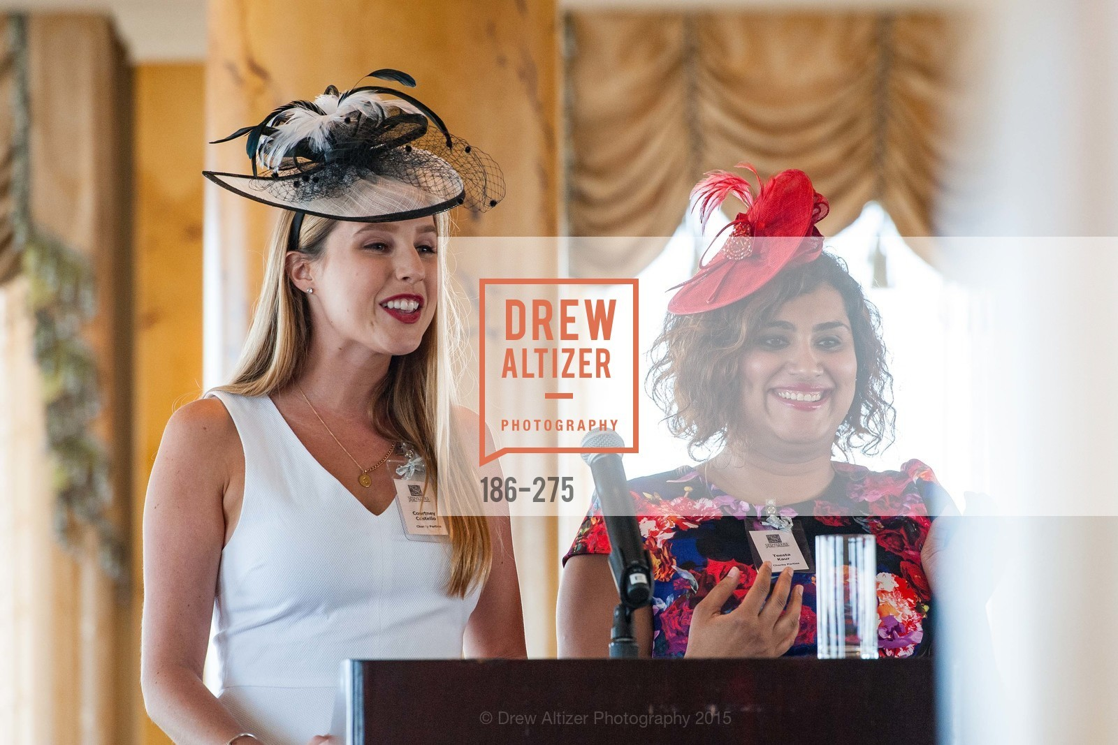 Courtney Costello, Teesta Kaur, Spinsters of San Francisco New Member Tea 2015, The Fairmont Hotel, Crown Room. 950 Mason Street, August 30th, 2015,Drew Altizer, Drew Altizer Photography, full-service event agency, private events, San Francisco photographer, photographer California