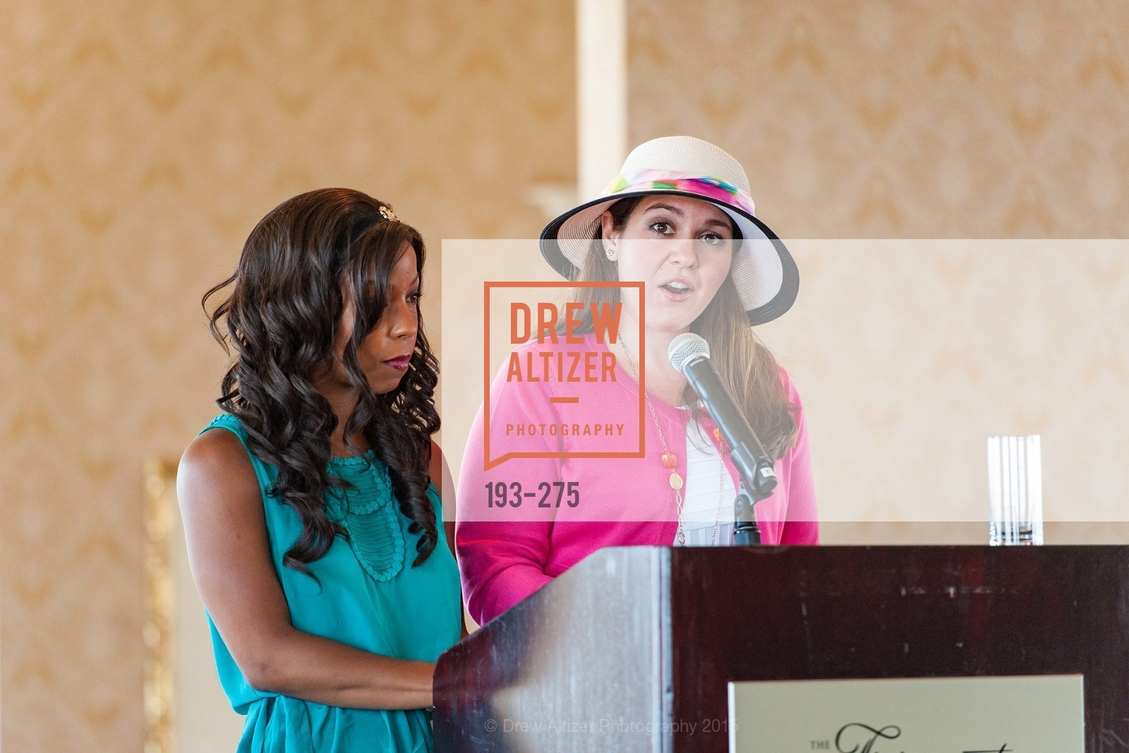 Allie Padilla, Ann Maria Jelacich, Spinsters of San Francisco New Member Tea 2015, The Fairmont Hotel, Crown Room. 950 Mason Street, August 30th, 2015,Drew Altizer, Drew Altizer Photography, full-service agency, private events, San Francisco photographer, photographer california