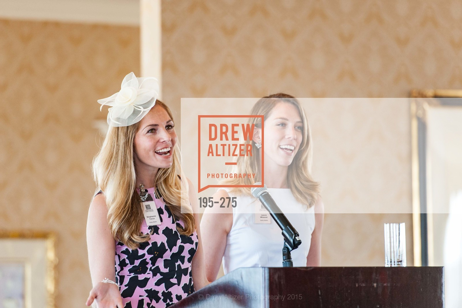 Stephanie Tecca, Laura Weaver, Spinsters of San Francisco New Member Tea 2015, The Fairmont Hotel, Crown Room. 950 Mason Street, August 30th, 2015,Drew Altizer, Drew Altizer Photography, full-service agency, private events, San Francisco photographer, photographer california